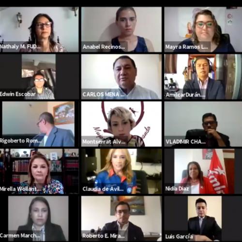 Candidatos y candidatas a diputaciones se comprometen a defender la democracia y la República